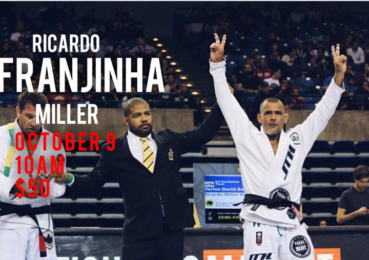 Franjinha Seminar at Mountain View BJJ Academy (Milton Bastos)